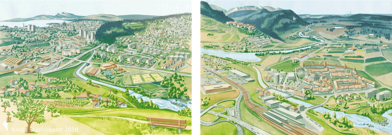 Landschaftspolitische Instrumente Agglomeration Mittelland Jura Nadja Stadelmann