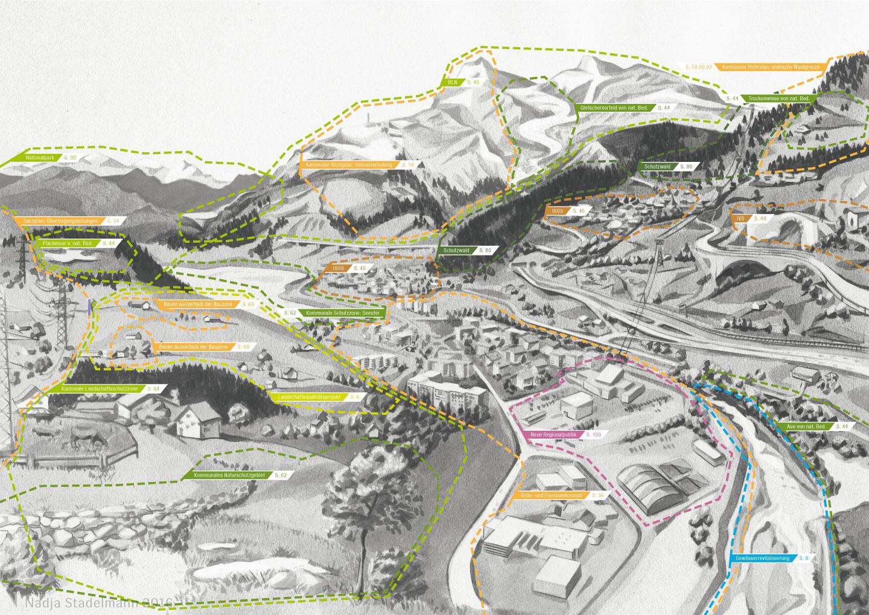 Landschaftspolitische Instrumente Alpin Nadja Stadelmann